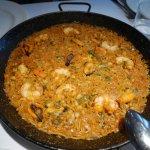 Seafood Fideua (Paella with Pasta)