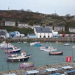 Porthleven harbour looking over to Rick Steens restraunt