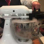 Making ice cream at the table