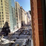 View from our window up Park Ave.