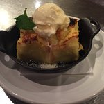Limoncello bread pudding is amazing.