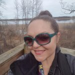 Myself atop one of the viewing platforms with Tobico Marsh in the background
