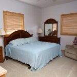 Luxury cabin bedroom