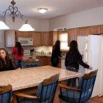 Luxury Cabin kitchen