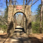 Official start crossing Bear Creek headed to Outcroppings Trail