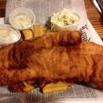 Humongous fish and chips