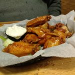 Wings with John Boy and Billy sauce