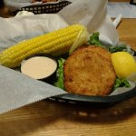 Crab cake basket