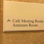 Meeting room upstairs