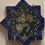 old tile; love the faces