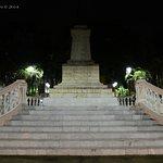 A monument dedicated to General Manuel Cepeda Peraza at the Parque de Hidalgo