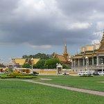 Rpyal Palace Phnom Penh City in Cambodia