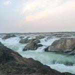 Sopheak Mitt Waterfall at Stung Treng Province Cambodia