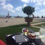 working / lunch / beach :)