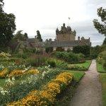 Cawdor gardens in August