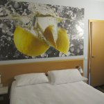Novedoso diseño de la habitación.
