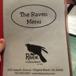 The front of the menu.