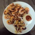 Такое блюдо с креветками вам подадут в ресторане Saara Beach