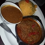 shredded beef and beans - ropa vieja