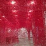 "From Chiharu Shiota ""Infinity Lines"""