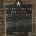 Historic theater. Texas lottery drawing