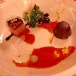 Pork Belly and Chocolate-enrobed Foie Gras