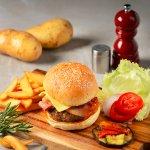 Bistro M serves the best burger in town.