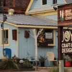 Deep Creek Coffee - sign and shop