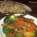 Prawn Fried Rice & Mixed Vegetables