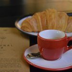 Great coffee and probably the best croissants in Jakarta...