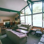 Beautiful A-Frame Style Living space in our 5 Bedroom chalet