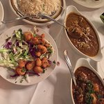 Similar looking curries from totally two different types of dishes