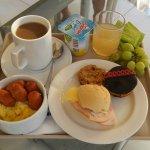 Desayuno abundante y sabroso