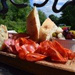 Sharing Antipasti Platter