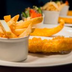 Traditional cod & chips