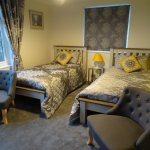 Twin room with panoramic sea views & ensuite.