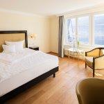 Classic Zimmer Grand Lit mit Seeblick ohne Balkon im Haupthaus