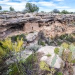 Cliff Dwelling along the Rim of the Well