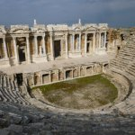 View of the theatre at Hierapolis
