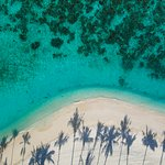 Aerial picture of the beach at Milaidhoo Maldives (249460392)