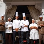 Our Kitchen team at Les Borjs