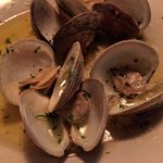 Clam appetizer