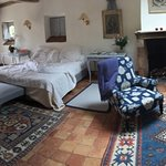 Superior Upper Floor Room in Convent of Herbs. This building is in the gardens and is peaceful