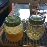 Fresh, cool drinks in the heat