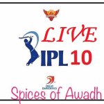 LIVE IPL @ Spices of Awadh