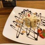 Very nice dessert after dinner! Large variety of dessert and ice cream.
