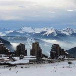 Skiing town of Avoriaz