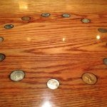 Tabletop At 13 Coins Restaurant, Seattle