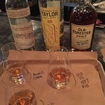 Sampling some great Bourbons