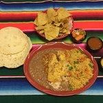Chicken Enchiladas Wednesdays